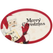 Fitz and Floyd® Letters to Santa Sentiment Serving Platter