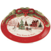 Fitz and Floyd® Home Warms the Heart Sentiment Serving Platter