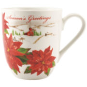 Fitz and Floyd® Seasons Greeting's Set of 2 Porcelain Mugs