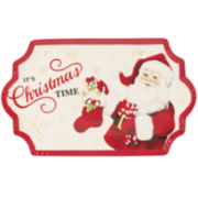 Fitz and Floyd® Letters To Santa Cookie Serving Platter