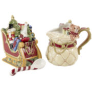 Fitz and Floyd® Night Before Christmas Sugar and Creamer Set