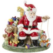Fitz and Floyd® Santa's Toy Shop Musical Santa Figurine