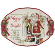 Fitz and Floyd® Night Before Christmas Serving Platter