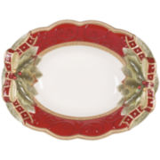 Fitz and Floyd® Damask Holiday Serving Bowl