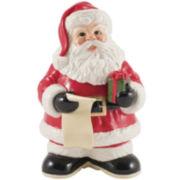 Fitz and Floyd® Letters to Santa Dry Erase Cookie Jar