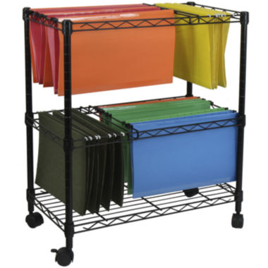 jcpenney.com | Oceanstar® 2-Tier Rolling File Cart