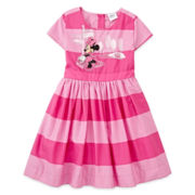 Disney Collection Minnie Mouse Dress - Girls 2-8