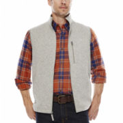 St. John's Bay® Fleece Sweater Vest