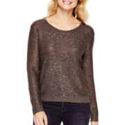a.n.a® Long-Sleeve Sequin Sweater