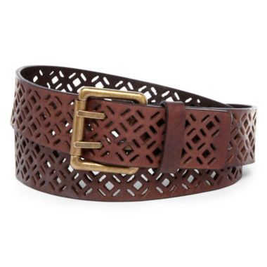 jcpenney.com | Perforated Leather Belt