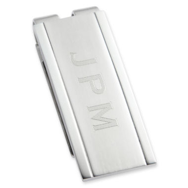 jcpenney.com | Personalized Stainless Steel Money Clip