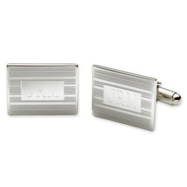 jcpenney.com | Personalized Rectangular Cuff Links