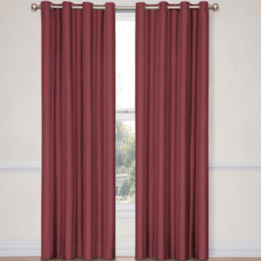 jcpenney.com | Eclipse® Handel Stripe Grommet-Top Blackout Curtain Panel