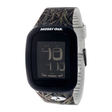 jcpenney.com | Mossy Oak® Mens Green/Brown Sport Watch