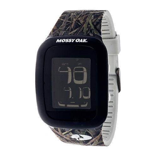 Mossy Oak® Mens Green/Brown Sport Watch