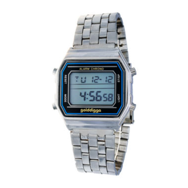 jcpenney.com | Zunammy Silver/Blue Digital Bracelet Watch