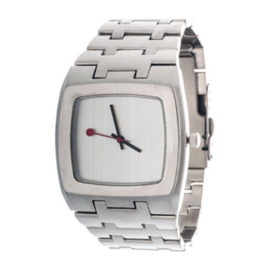 jcpenney.com | Zunammy® Mens Silver-Tone Strap Watch