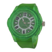 Zunammy® Mens Green Strap Sport Watch