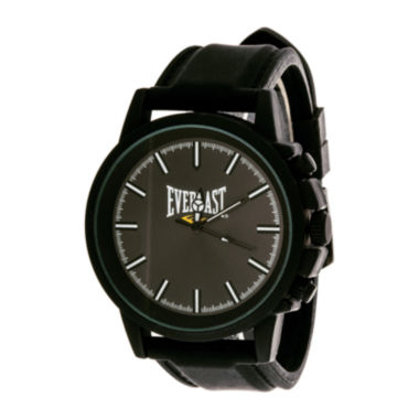 jcpenney.com | Everlast® Mens Black Silicone Strap Sport Watch