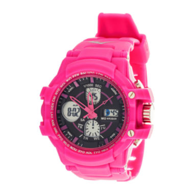 jcpenney.com | Everlast® Womens Pink Strap Analog/Digital Sport Watch