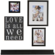 Love is All We Need 5-pc. Picture Frame Set