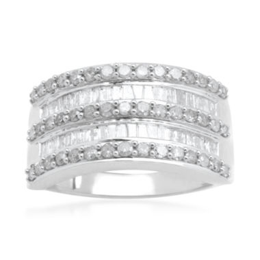 jcpenney.com | LIMITED QUANTITIES1 CT. T.W. Diamond 10K White Gold Ring
