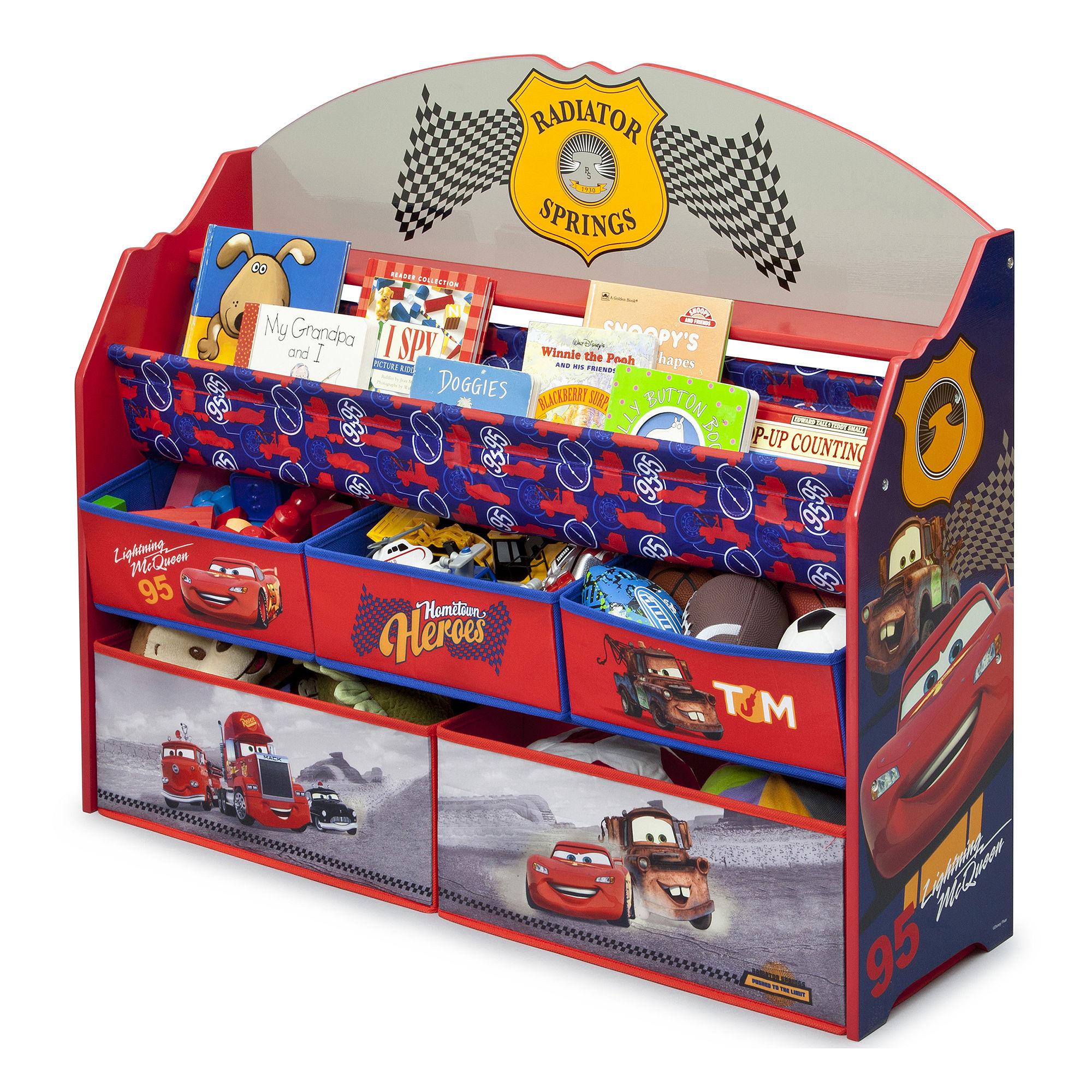 Disney Cars Deluxe Book & Toy Organizer