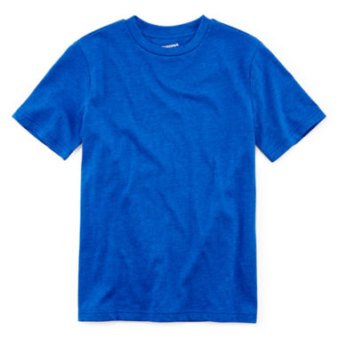 jcpenney.com | Arizona Short-Sleeve Solid Crewneck Tee - Boys 8-20 and Husky