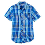 Arizona Short-Sleeve Button-Front Shirt - Boys 8-20