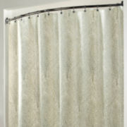 Sterling Metallic Tree Shower Curtain