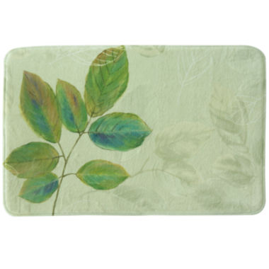 jcpenney.com | Bacova Waterfall Leaves Memory Foam Bath Rug