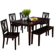 Triston 6-pc. Dining Set