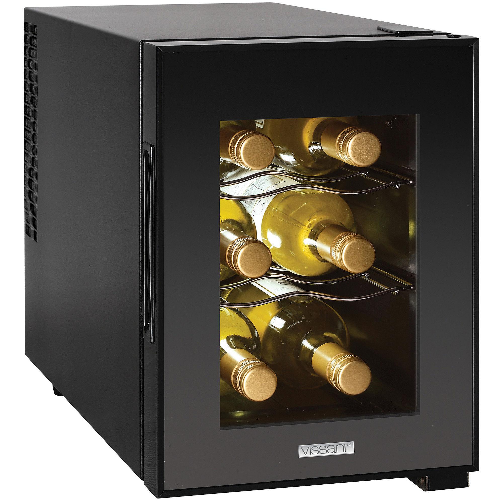 Magic Chef 6-Bottle Countertop Wine Cooler