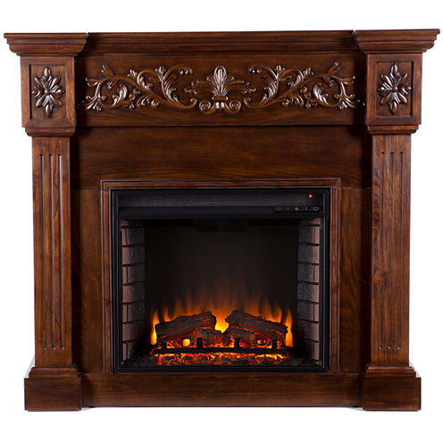 Sachs Carved Electric Fireplace