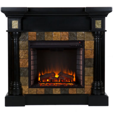 jcpenney.com | Serena Faux Slate Convertible Electric Fireplace