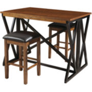 Kennedale 3-pc. Compact Dining Set