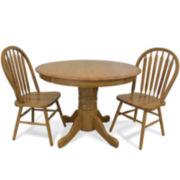 Oakmont 3-pc. Double Drop Leaf Dining Set