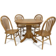 Oakmont 5-pc. Double Drop Leaf Dining Set