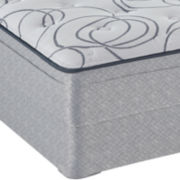 Sealy® Kelman Plush Euro-Top - Mattress + Box Spring