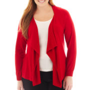Worthington® Flyaway Cardigan Sweater - Plus