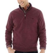 Dockers® Quarter-Zip Fleece Pullover