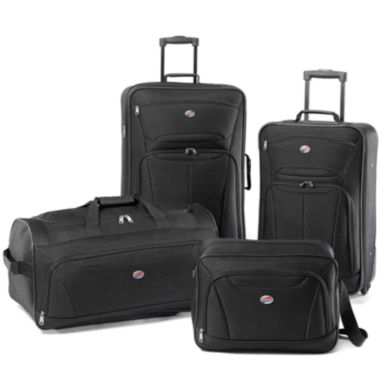 jcpenney.com | American Tourister® Fieldbrook 4-pc. Luggage Set