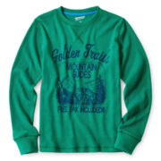 Arizona Long-Sleeve Graphic Thermal Tee - Boys 6-18
