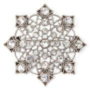 Liz Claiborne® Snowflake Pin