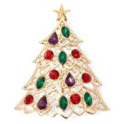 Liz Claiborne® Filigree Tree Pin