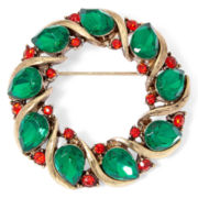 Liz Claiborne® Wreath Pin