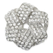 Monet® Crystal Knot Pin