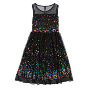 Speechless® Sequin Illusion Ballerina Dress - Girls 7-16