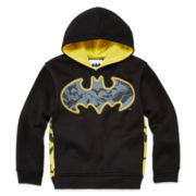 Batman Fleece Pullover Hoodie - Preschool Boys 4-7