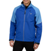 Champion® Fleece-Lined Softshell Jacket with 4-Way Stretch